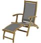 Deckchair, BxHxT: 137 x 93 x 58 cm, Akazienholz-Thumbnail