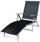 Deckchair »Deckchair«, BxTxH: 64  x 140  x 87  cm, Aluminium/ Stahl/ Textil-Thumbnail