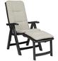BEST Deckchair »Florida«, Gestell: Kunststoff, inkl. Auflage-Thumbnail