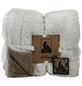 Decke »Designed by Lotte«, beige/braun-Thumbnail