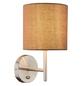 Deckenleuchte »BETTY« nickelfarben 40 W, 1-flammig, E14, inkl. Leuchtmittel-Thumbnail