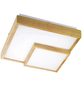 wofi® Deckenleuchte braun 34 W, 1-flammig, inkl. Leuchtmittel in warmweiß-Thumbnail