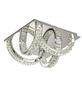wofi® Deckenleuchte chromfarben 20,5 W, 4-flammig, inkl. Leuchtmittel in warmweiß-Thumbnail
