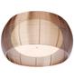 BRILLIANT Deckenleuchte chromfarben/bronzefarben 30 W, 2-flammig, E27, dimmbar, ohne Leuchtmittel-Thumbnail