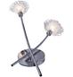 NÄVE Deckenleuchte »Flower« chromfarben/klar 56 W, 2-flammig, G9, inkl. Leuchtmittel in warmweiß-Thumbnail