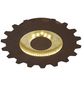 wofi® Deckenleuchte goldfarben 18 W, 2-flammig, inkl. Leuchtmittel in warmweiß-Thumbnail