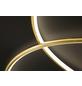 wofi® Deckenleuchte goldfarben 32 W, 1-flammig, dimmbar, inkl. Leuchtmittel in warmweiß-Thumbnail