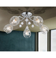 GLOBO LIGHTING Deckenleuchte »KORDULA« chromfarben 40 W, E14, ohne Leuchtmittel-Thumbnail
