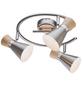 Deckenleuchte »MAREI« mit 25 W, 3-flammig, nickelfarben-Thumbnail