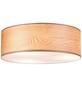 PAULMANN Deckenleuchte »Neordic Liska« braun 60 W, E27, dimmbar, ohne Leuchtmittel-Thumbnail