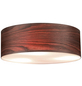 PAULMANN Deckenleuchte »Neordic Liska« dunkelbraun 60 W, E27, dimmbar, ohne Leuchtmittel-Thumbnail