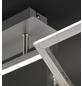 wofi® Deckenleuchte stahlfarben 32 W, 1-flammig, inkl. Leuchtmittel in warmweiß-Thumbnail