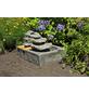 GARDEN PLEASURE Dekobrunnen »Garden Pleasure«, Höhe: 55 cm, grau-Thumbnail