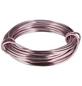 NATURAL COLLECTIONS Dekodraht, Länge: 5 m, Aluminium, pink-Thumbnail