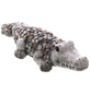 Dekofigur »Kiesel Figuren«, Krokodil, Keramik, grau-Thumbnail