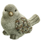Dekofigur »Kiesel Figuren«, Vogel, Keramik, grau-Thumbnail