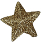 CASAYA Dekoration Stern, Format: 1,5 x 1,5 x 0,5, 50 Stück-Thumbnail