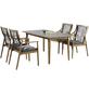 BEST Diningsessel »Barletta«, BxHxT: 61 x 99 x 67 cm, Eukalyptusholz-Thumbnail