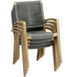 BEST Diningsessel »Lagos«, BxHxT: 56 x 92 x 69 cm, Eukalyptusholz-Thumbnail