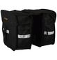 PROPHETE Doppel-Packtasche, Polyester, schwarz-Thumbnail