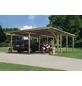 KARIBU Doppelcarport »Eco 2 Variante B«, Außenmaß BxT: 527 x 576 cm, natur-Thumbnail
