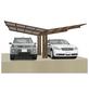 XIMAX Doppelcarport »Linea«, Außenmaß BxT: 547,6 x 495,4 cm-Thumbnail