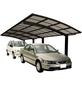 XIMAX Doppelcarport »Portoforte«, Außenmaß BxT: 270,4 x 982,6 cm, braun-Thumbnail