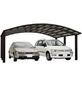 XIMAX Doppelcarport »Portoforte«, Außenmaß BxT: 542,3 x 495,4 cm, braun-Thumbnail