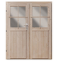 KARIBU Doppelflügeltür für Gartenhäuser, BxH: 141 x 177 cm, Holz-Thumbnail