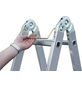 KRAUSE Doppelleiter »MONTO«, Anzahl Sprossen: 12, Aluminium-Thumbnail