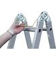 KRAUSE Doppelleiter »MONTO«, Anzahl Sprossen: 16, Aluminium-Thumbnail