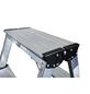 KRAUSE Doppelleiter »MONTO Dopplo«, 8 Sprossen, Aluminium-Thumbnail