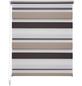 LIEDECO Doppelrollo, Weiß | Braun | Beige, Höhe: 160 cm-Thumbnail