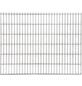 FLORAWORLD Doppelstabmatte, HxL: 203 x 201 cm, silberfarben-Thumbnail