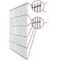 FLORAWORLD Doppelstabmatte, HxL: 203 x 251 cm, silberfarben-Thumbnail