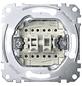 merten Doppelwechselschalter-Einsatz, Kunststoff | Metall, Silber-Thumbnail