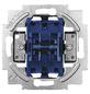 BUSCH-JAEGER Doppelwechselschalter-Einsatz, Silber, Kunststoff/Metall-Thumbnail