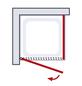 SCHULTE Drehtür »Garant«, Klarglastür, BxH: 80 x 200 cm-Thumbnail