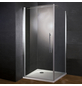 WELLWATER Drehtür mit Seitenwand »Sirius«, Drehtür, BxH: 90 x 190 cm-Thumbnail