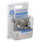 SCHWAIGER Dreiloch-Einzeldose SAT, Silber, Aluminium, Antennen-, Kabel- und Satellitensignal-Thumbnail