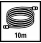 EINHELL Druckluftgewebeschlauch silber/transparent Ø 6 x 10000 mm-Thumbnail