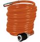EINHELL Druckluftspiralschlauch orange Ø 6 x 4000 mm-Thumbnail