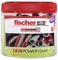 FISCHER Dübel, DUOPOWER, 55 Stück, 10 x 50 mm-Thumbnail