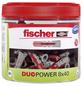 FISCHER Dübel, DUOPOWER, 81 Stück, 8 x 40 mm-Thumbnail