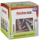 FISCHER Dübel, DUOPOWER, Nylon, 25 Stück, 10 x 50 mm-Thumbnail