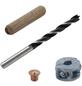 WOLFCRAFT Dübel-Set, 2917000, Holz | Metall, 1 Set, 8 mm-Thumbnail