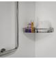 TIGER Duschkorb »Boston«, BxHxT: 24,7 x 6 x 24,7 cm, edelstahlfarben-Thumbnail