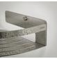 TIGER Duschkorb »Caddy«, BxHxT: 22,4 x 7 x 22,4 cm, edelstahlfarben-Thumbnail