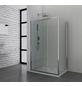 SANOTECHNIK Duschtrennwand »Elite«, B x H: 88 x 195 cm, Sicherheitsglas-Thumbnail