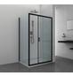 SANOTECHNIK Duschtrennwand »Elite Black«, B x H: 78 x 195 cm, Sicherheitsglas-Thumbnail